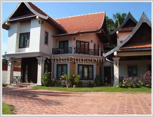 ID: 1351 - Lao style house not so far from WHO office