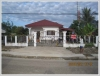 Nice villa near main road for sale in Vangvieng