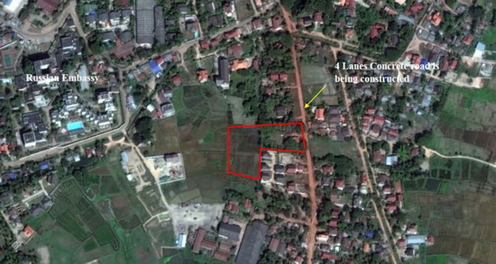Land in diplomatic area for sale at low price