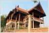 85% complete Big Lao style house by Mekong for urgent sale