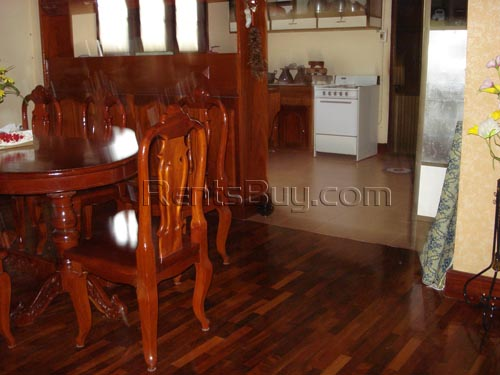 House close to rice paddy for sale