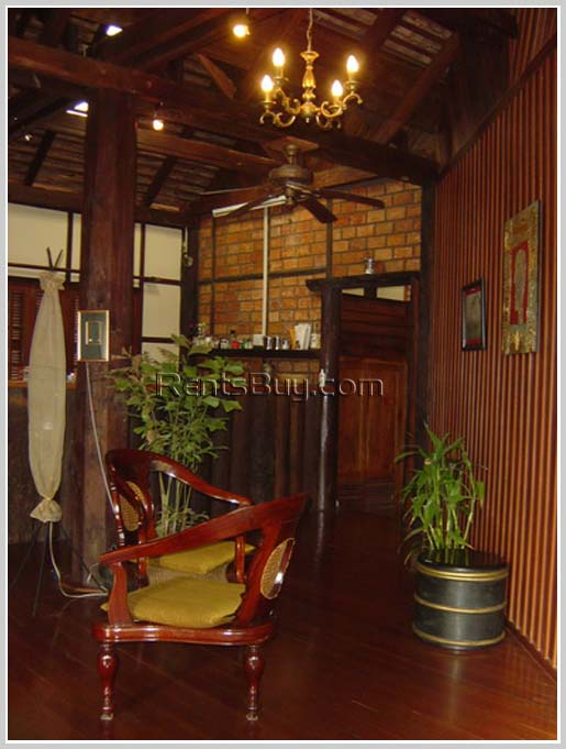 ID: 1794 - Lao style house with beautiful garden