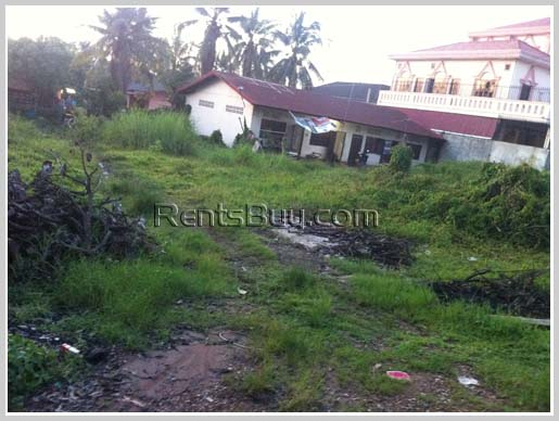Vacant land by the pave road