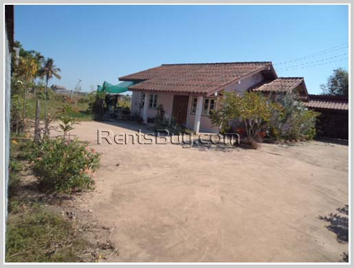 Villa with large land for sale
