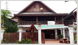 ID: 3771 - Nice guesthouse in center of Luangprabang City in night market area for sale