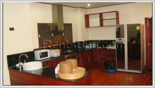 ID: 2203 - House for Rent near Phonthan Tower