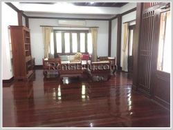 ID: 3418 - Modern Lao style house near Lao ITEC Mall for rent.