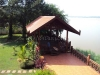 Lao style house with great view of Mekong
