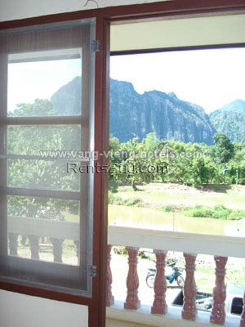 ID: 799 - Guesthouse in Vangvieng for lease or sale
