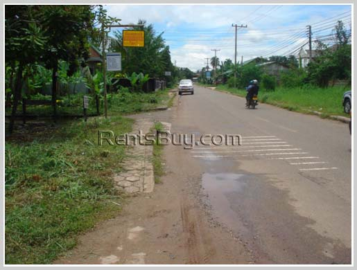 Vacant land and 3 houses for sale in business area