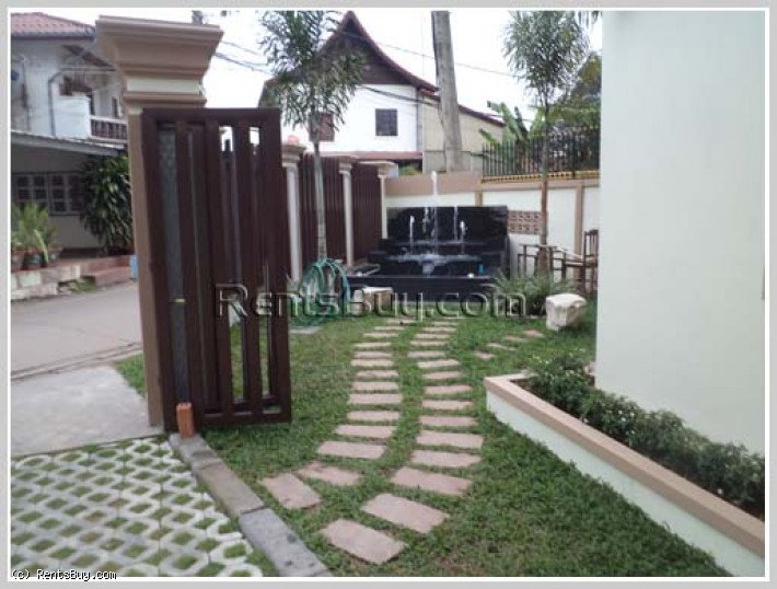ID: 3540 - New modern apartment with fully furnished for rent near Patuxay