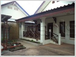 ID: 277 - The nice villa near 150 Tieng Hospital, Phontong market with fully furnished for rent