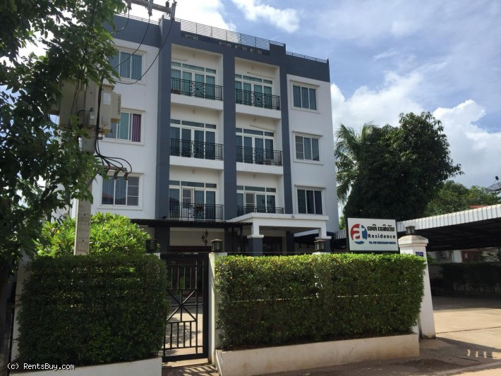 ID: 4302 - Apartment in city center near Thongkhankham Market for rent