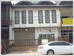 ID: 3129 - Twin shophouse near Lao-American College for rent.