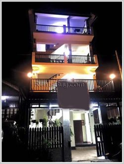 ID: 3545 - New apartment by pave road near Vientiane Center & Morning market