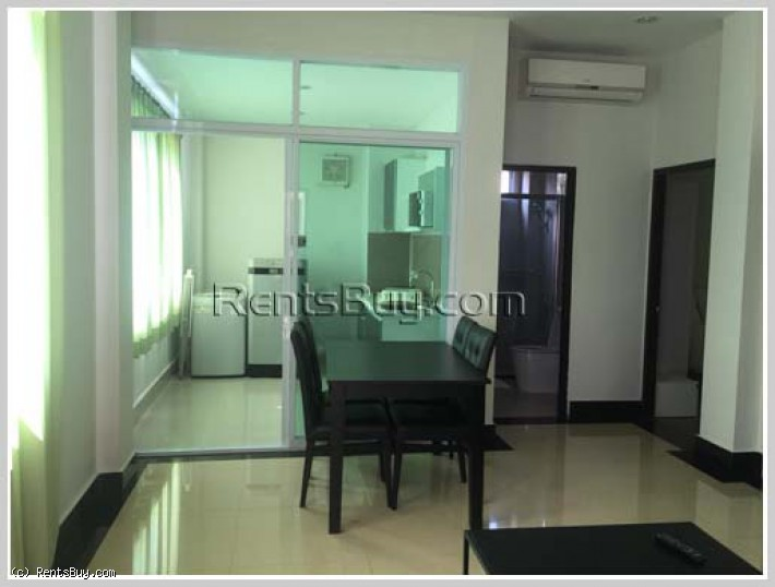 ID: 4266 - Nice serviced apartment for rent close to LandMart Mekong Riverside
