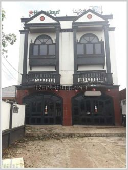 ID: 3374 - Nice restaurant near Lao-Amarican college for rent