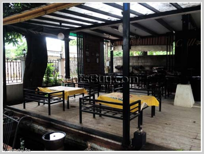 ID: 2379 - Restaurant and nice villa for rent in Saysettha district