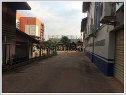 ID: 1476 - Business for rent near Lao ITTECC and main road in Saysettha district