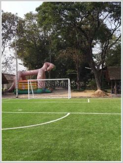 ID: 407 - Modern football fields and resturant business for rent in Sisattanak district.
