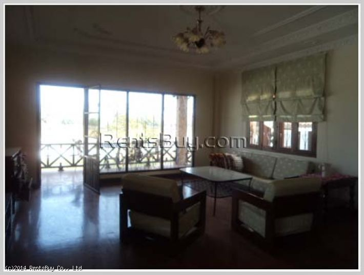 ID: 2343 - Beautiful house with large land near Lao-ITECC