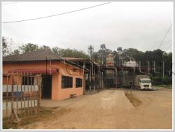 ID: 2431 - The Factory for sale near main road in Ban Chantai Tai, Oudomsay Province