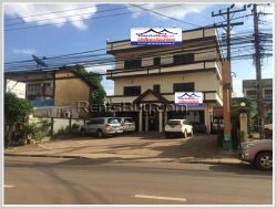 ID: 4226 - Nice hotel in town next to main road near Patuxay for rent and sale in Ban Sisavart
