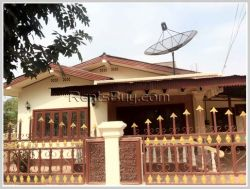 ID: 3084 - Villa house near 150 Tieng hospital for rent in Chanthabouly district