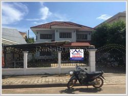 ID: 4192 - Adorable house near Patuxay for rent in Ban Sisavath