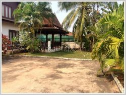 ID: 3105 - Beautiful house for rent in Chanthabouly district