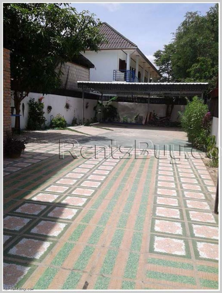 ID 2730: Lao style house with fully furnished near Embassy of United States of America for rent