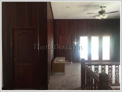 ID: 3560 - Beautiful house design with traditional taste of Lao and fully furnished for rent