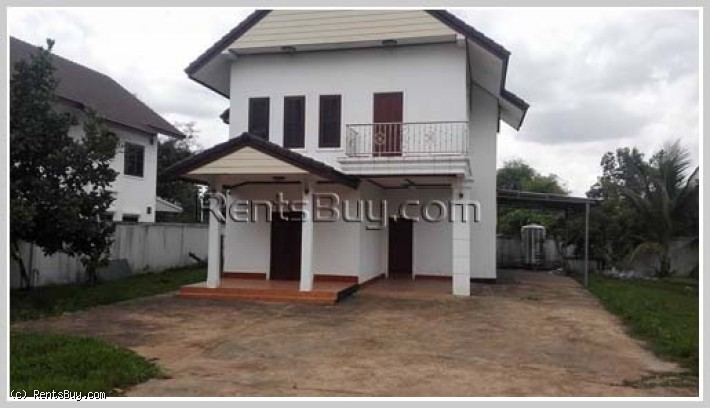 ID: 3753 - Nice house with fully furnished for rent