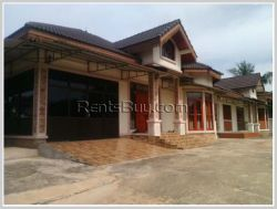 ID: 3245 - Beautiful compound house near Thatluang Temple with fully furnished for rent
