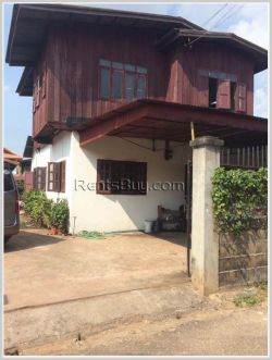 ID: 3368 - The house by pave road and Thatluang Temple for rent