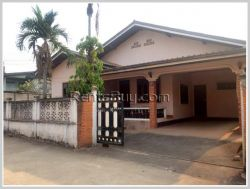 ID: 3557 - Pretty house next to concrete road and fully furnished for rent