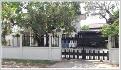 ID: 3554 - The house by pave road and near Embassy of Thailand for rent