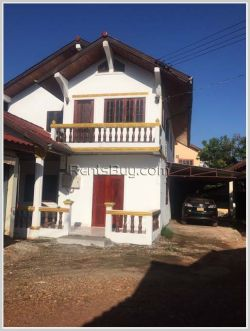 ID: 3534 - the Villa home in town by pave road near Lao American College for rent