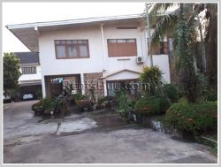 ID: 61 - Lao contemporary house with fully furnised and large shady garden for rent