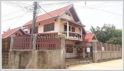 ID: 3608 - Nice house next to concrete road for rent