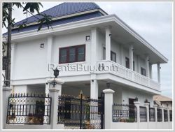 ID: 4338 - Modern house near Lao ITEC Mall in Ban Phonthan for rent