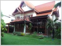 ID: 2850 - Full Lao style house in quiet area