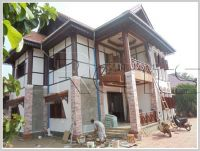 ID: 2913 - Fully furnished Lao style house in quiet area