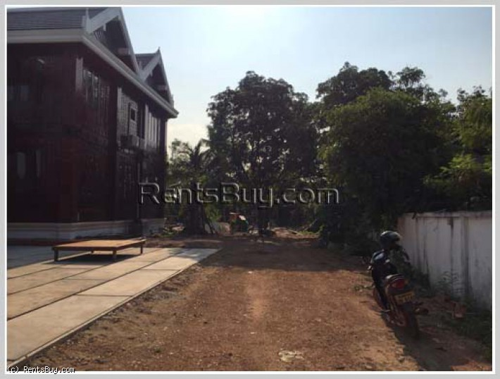 ID: 4312 - The wood house close to Joma in Ban Sapangmor for rent