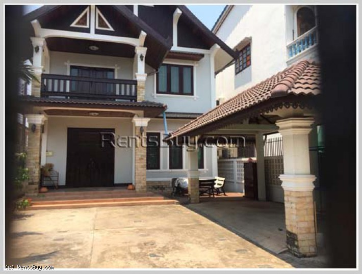 ID: 4313 - Lao style house near 23 Singha Park and Sengdara Fitness for rent