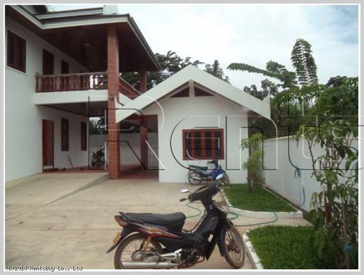 ID: 2622 - Luxury house with large land in quiet area with fully furnished
