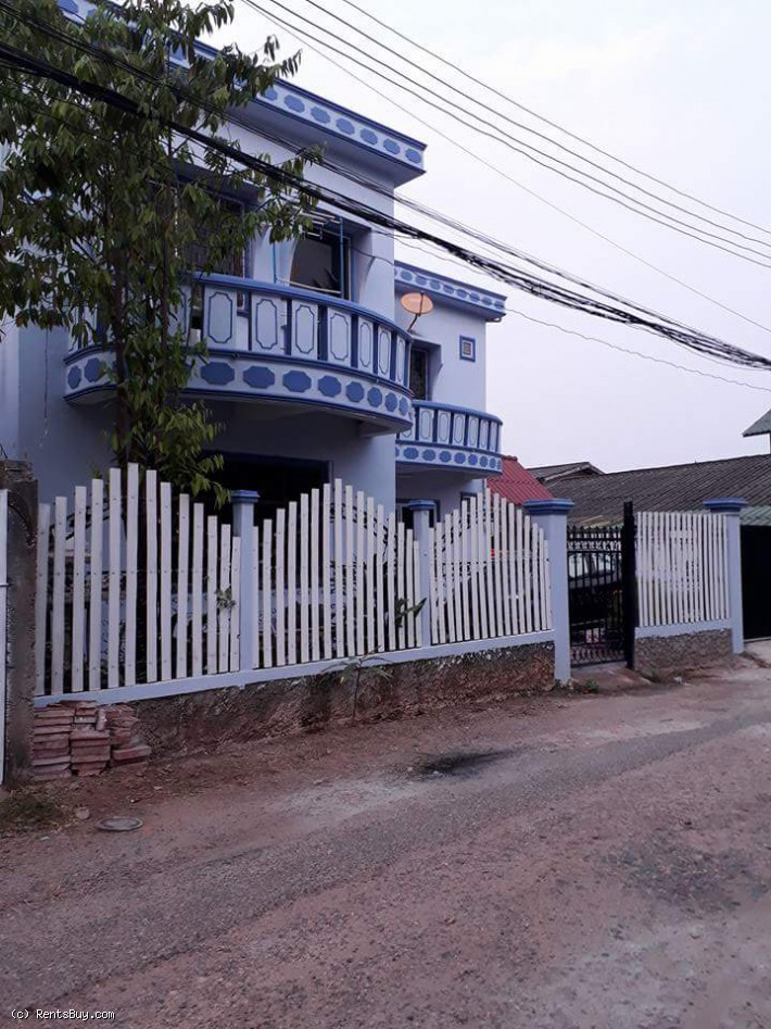 ID: 4023 - Adorable house with fully furnished Thatluang Square by pave road for rent