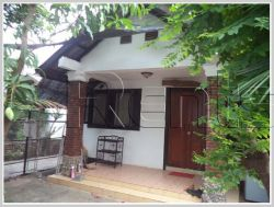 ID: 3009 - Cozy house near Sengdara fitness for rent in Saysettha District, Vientaine Capital!