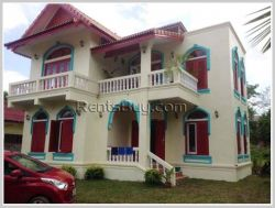 ID: 3799 - The colorful house near National University of Laos for rent