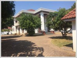 ID: 3500 - Contemporary house with fully furnished for rent near Lao National Convention Hall